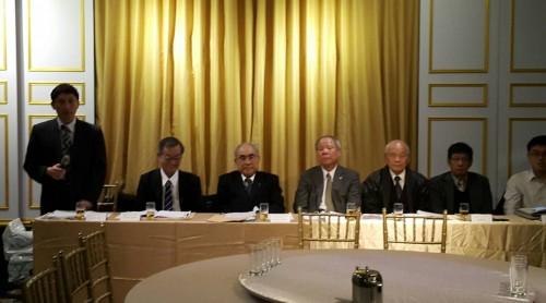 2017年3月16日台日鰻苗雙邊座談會